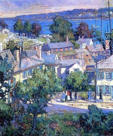 Sunday Morning by Mary Bradish Titcomb - Reproduction Oil Painting