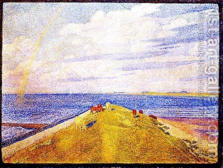 Rainbow by Theo van Rysselberghe - Reproduction Oil Painting