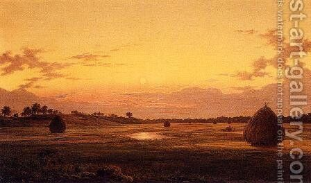 At Dawn by Albert (Fitch) Bellows - Reproduction Oil Painting
