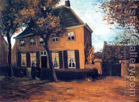 The Parsonage at Nuenen by Vincent Van Gogh - Reproduction Oil Painting