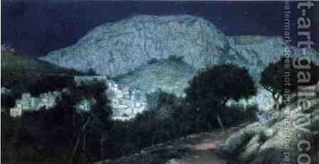 Moonliight Capri by Charles Caryl Coleman - Reproduction Oil Painting
