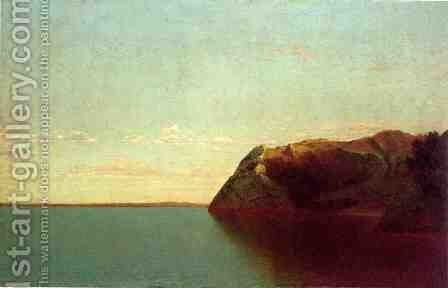 Newport Rocks by John Frederick Kensett - Reproduction Oil Painting