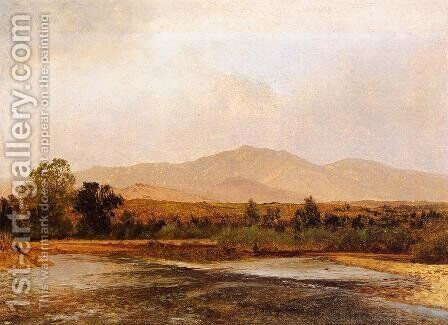 On the St. Vrain, Colorado Territory by John Frederick Kensett - Reproduction Oil Painting