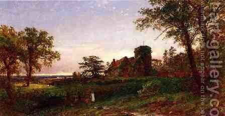 View of Stoke Poges by Jasper Francis Cropsey - Reproduction Oil Painting