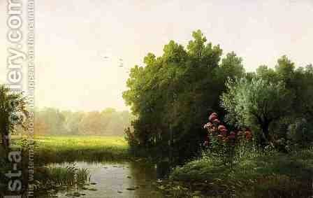 Summer by Edward Moran - Reproduction Oil Painting