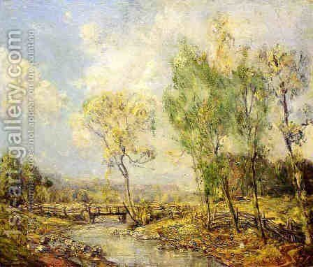 Country Landscape by Guy Rose - Reproduction Oil Painting