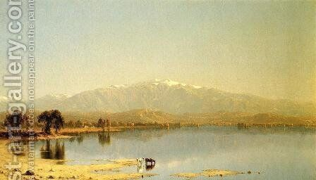 Early October in the White Mountains by Sanford Robinson Gifford - Reproduction Oil Painting