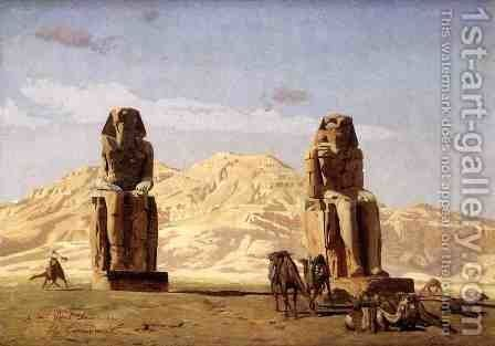 Memnon and Sesostris, (study) by Jean-Léon Gérôme - Reproduction Oil Painting