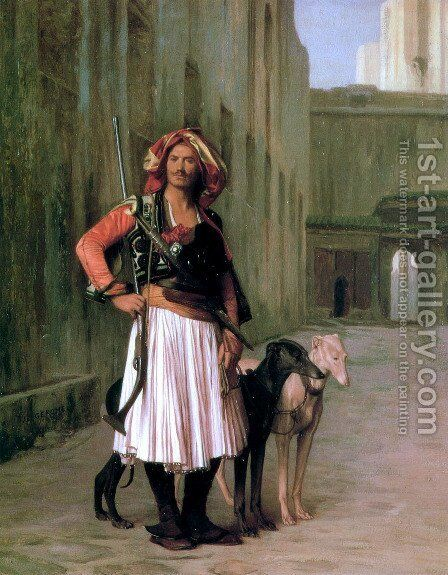 Arnaut from Cairo by Jean-Léon Gérôme - Reproduction Oil Painting