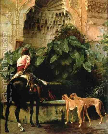Home from the Hunt by Jean-Léon Gérôme - Reproduction Oil Painting