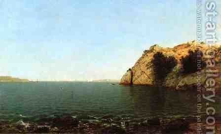 Bay of Newport by John Frederick Kensett - Reproduction Oil Painting