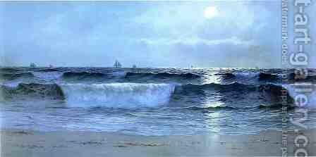 Seascape 2 by Alfred Thompson Bricher - Reproduction Oil Painting