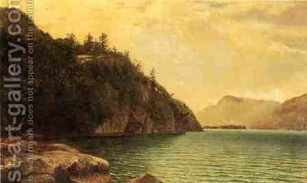 Lake George by David Johnson - Reproduction Oil Painting