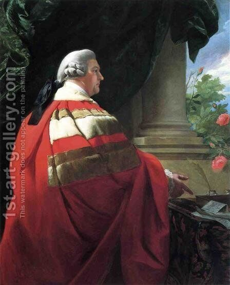 Portrait of John, Second Viscount Dudley and Ward by John Singleton Copley - Reproduction Oil Painting