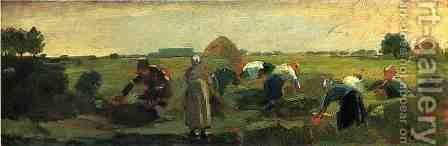 The Gleaners by Winslow Homer - Reproduction Oil Painting