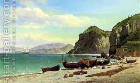 Marina Grande - Capri by Charles Temple Dix - Reproduction Oil Painting