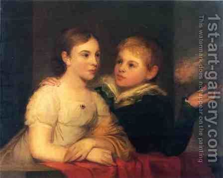 The Brinton Children by Thomas Sully - Reproduction Oil Painting