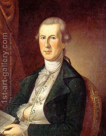 Charles Wilson Peale 1741-1827 by Charles Willson Peale - Reproduction Oil Painting