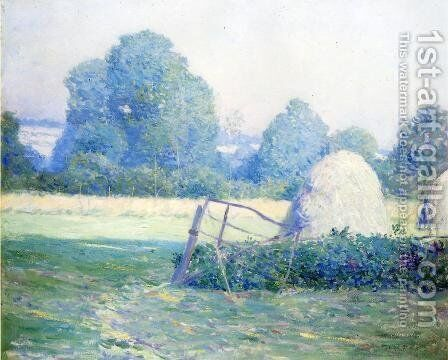 July Afternoon by Guy Rose - Reproduction Oil Painting