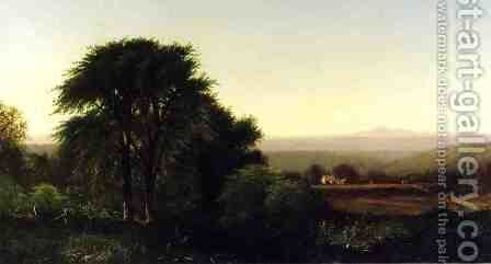 July Afternoon in Greenfield, Massachusetts by Alfred Thompson Bricher - Reproduction Oil Painting