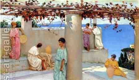 Capri by Charles Caryl Coleman - Reproduction Oil Painting