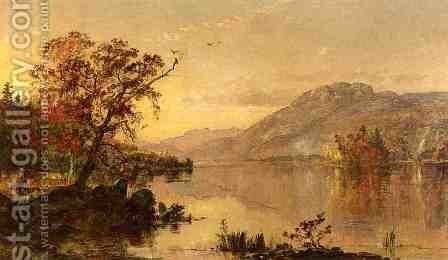 Lake George, New York by Jasper Francis Cropsey - Reproduction Oil Painting