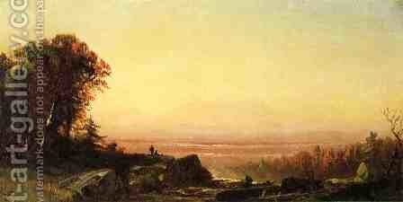 The Look-Out Point by Alfred Thompson Bricher - Reproduction Oil Painting