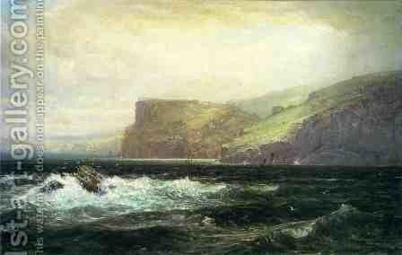 Tintagel Coast by William Trost Richards - Reproduction Oil Painting