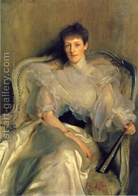 Mrs. Ian Hamilton (Jean Muir) by Sargent - Reproduction Oil Painting