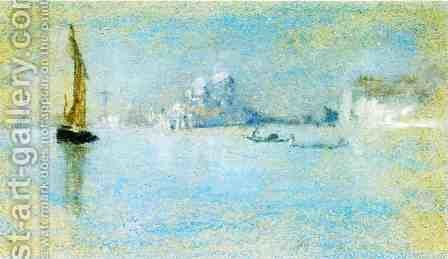 View of Venice by James Abbott McNeill Whistler - Reproduction Oil Painting