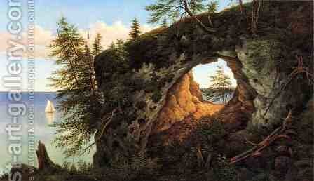 Fairy Arch, Mackinac Island by Henry Chapman Ford - Reproduction Oil Painting