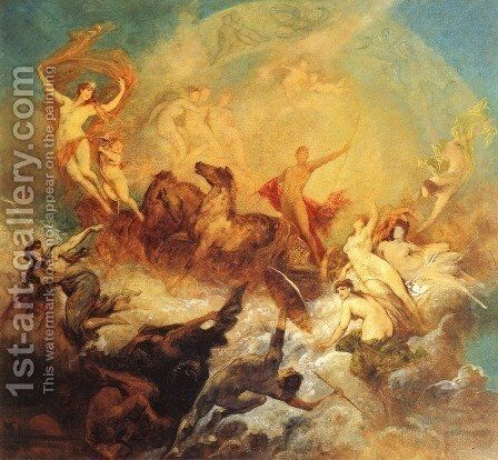 brevoort kane by Hans Makart - Reproduction Oil Painting