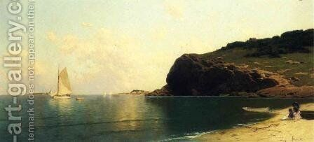 Afternoon Calm by Alfred Thompson Bricher - Reproduction Oil Painting