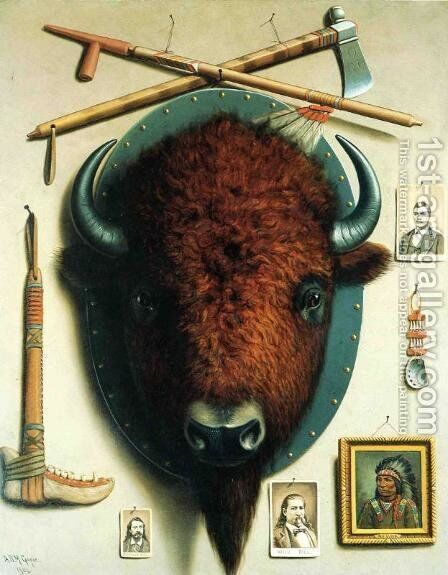 Trophies of the Frontier by Astley David Middleton Cooper - Reproduction Oil Painting