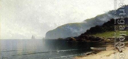 Coastal Scene by Alfred Thompson Bricher - Reproduction Oil Painting