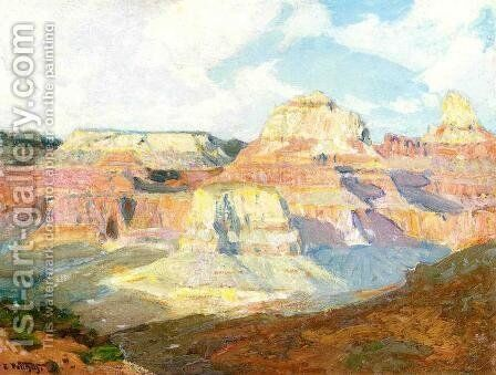 Grand Canyon by Edward Henry Potthast - Reproduction Oil Painting