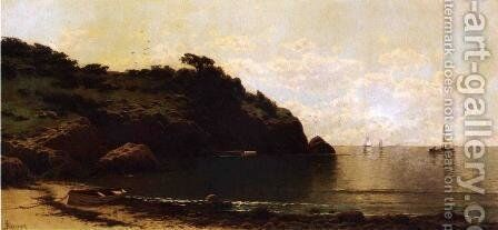 Coastal View I by Alfred Thompson Bricher - Reproduction Oil Painting