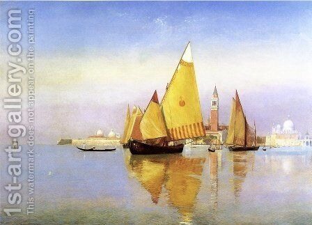 Venice by Henry Roderick Newman - Reproduction Oil Painting