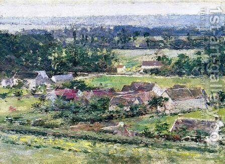 Giverny I by Theodore Robinson - Reproduction Oil Painting