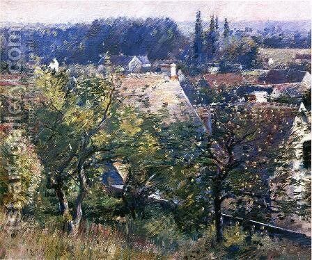 Saint Martin's Summer, Giverny by Theodore Robinson - Reproduction Oil Painting
