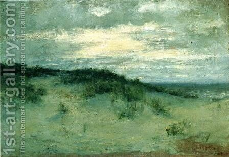 The Sand Dunes by Homer Dodge Martin - Reproduction Oil Painting