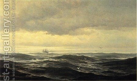 Homeward Bound by Edward Moran - Reproduction Oil Painting