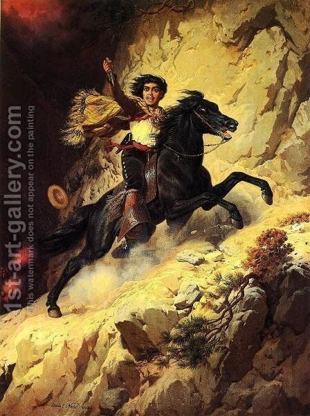 Joaquin Murieta by Charles Christian Nahl - Reproduction Oil Painting