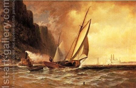 Under the Palisades by Granville Perkins - Reproduction Oil Painting