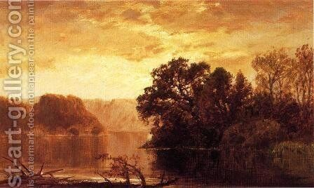 Fall River Landscape by James David Smillie - Reproduction Oil Painting