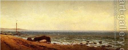 Along the Shore 2 by Alfred Thompson Bricher - Reproduction Oil Painting