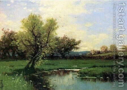 Springtime by Alfred Thompson Bricher - Reproduction Oil Painting