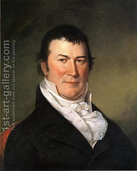 Portrait of William Harris Crawford by Charles Willson Peale - Reproduction Oil Painting