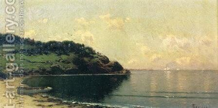 Coast Landscape by Alfred Thompson Bricher - Reproduction Oil Painting