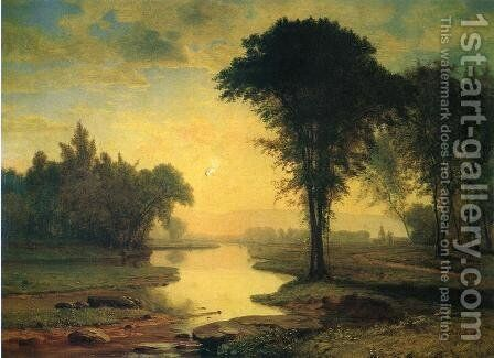 The Elm by George Inness - Reproduction Oil Painting